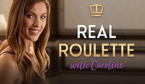 Real Dealer Roulette with Caroline